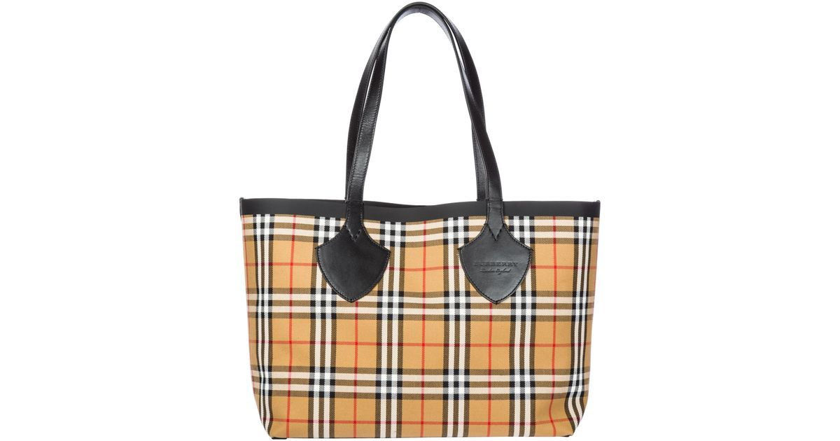 Lyst Burberry Handbag Ping Bag Purse Tote Giant In Red