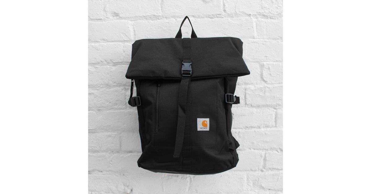 253d2564f7 Carhartt Wip Phil Backpack in Black for Men - Lyst