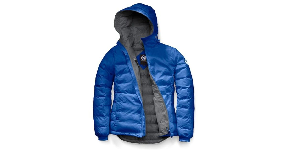 Bleu Doudoune Courte En Goose Coloris Hoody Exwtcnqa Camp Lyst Fbi wqB7IW