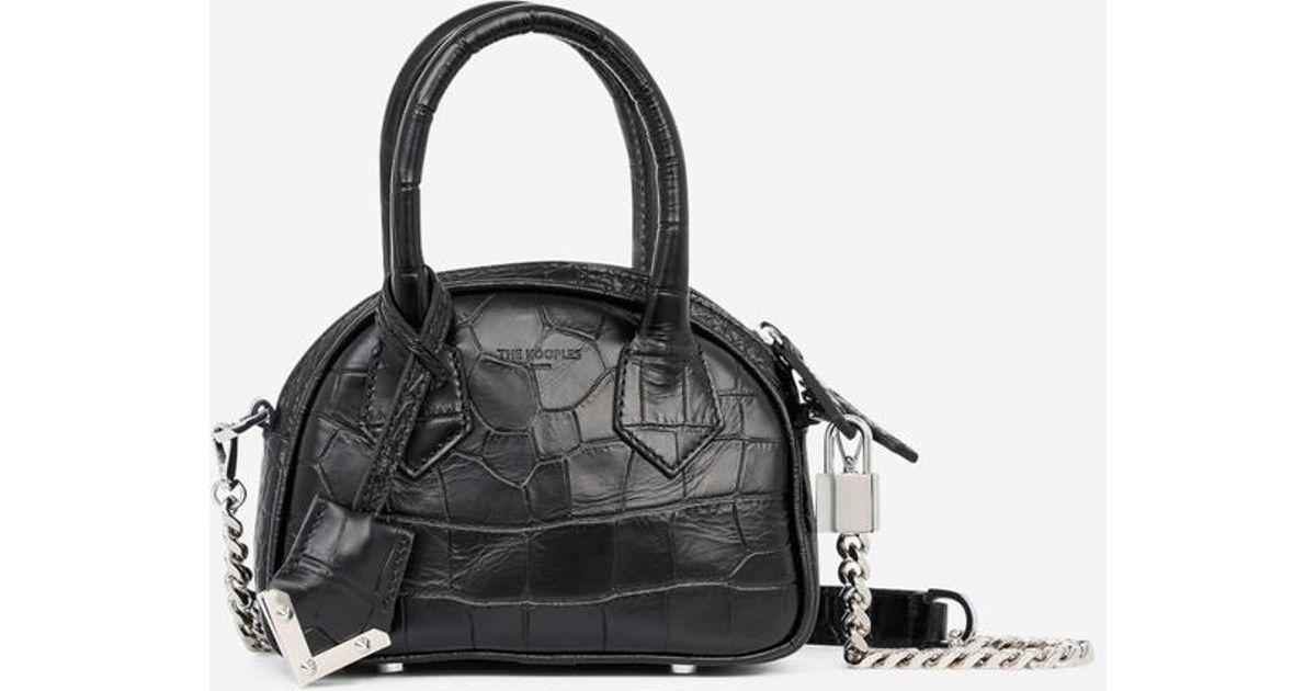 31b4def368 Mini sac cabas Irinia The Kooples en coloris Noir - Lyst
