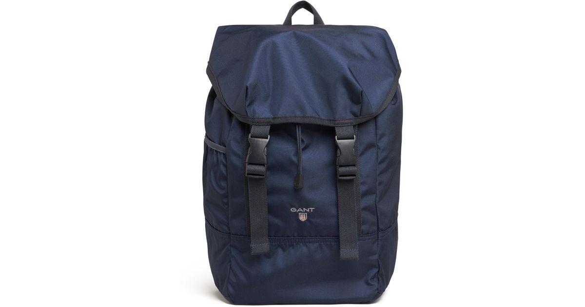 fdc2ccef433 GANT Original Backpack in Blue for Men - Lyst