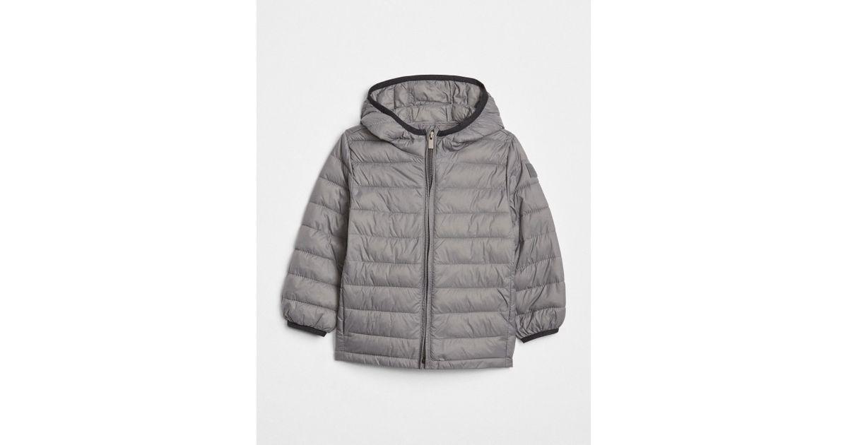 Lyst Gap Coldcontrol Lightweight Puffer Jacket In Gray For Men