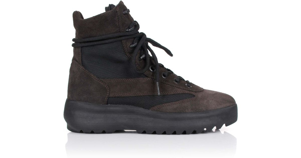Yeezy & Military Boots