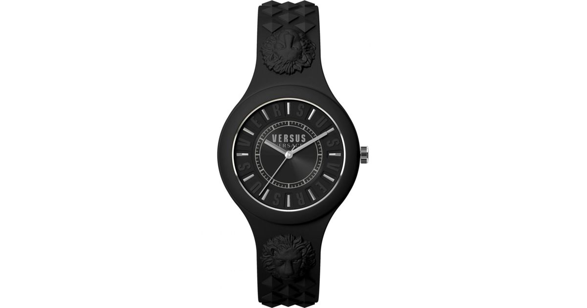 Lyst - Versus Fire Island Watch Black in Black 16960e6dc