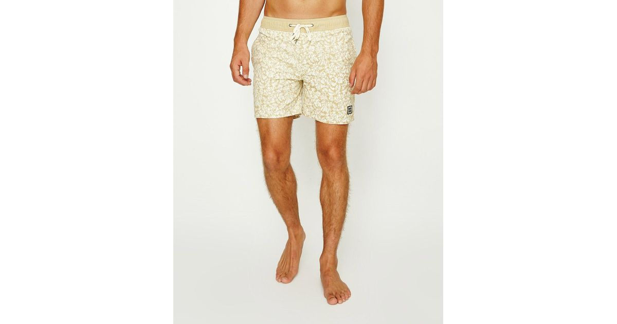 9cd1989cd9 Insight Kowloon Boardshort Quicksand in Natural for Men - Lyst