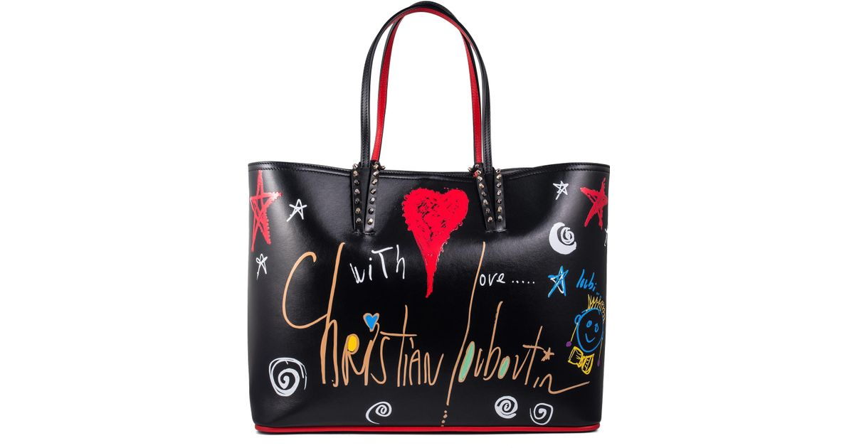 Lyst - Christian Louboutin Cabata Tote in Red fb92a673c3c6d