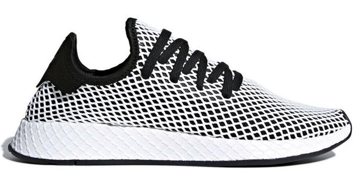 super popular 06673 35144 Adidas Originals ADIDAS ORIGINALS Sneaker deerupt runner nera in Black for  Men - Lyst