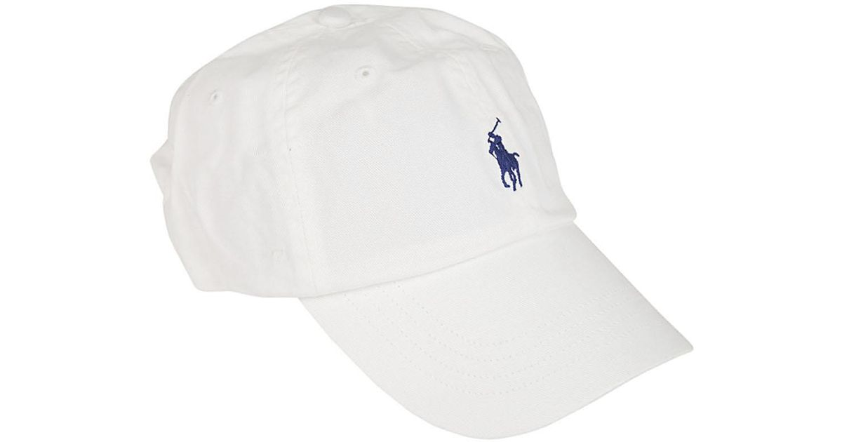 purchase cheap bd4e1 e16f1 Polo Ralph Lauren - White POLO RALPH LAUREN Cappello basic bianco for Men -  Lyst