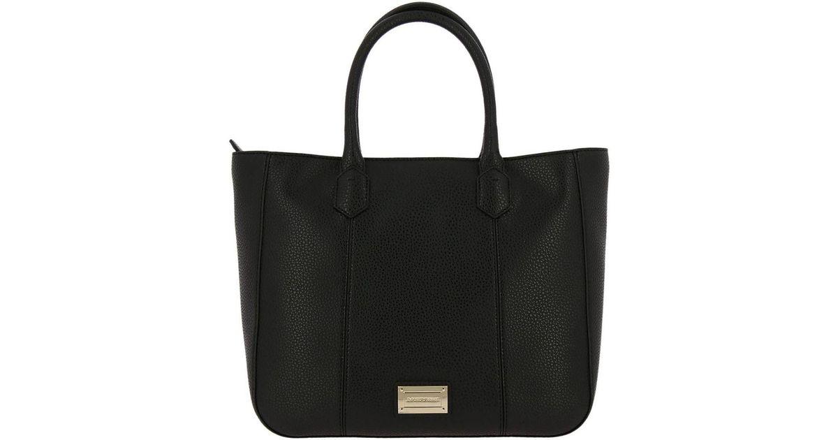 d5c4f3a88732 Emporio Armani Handbag Shoulder Bag Women in Black - Lyst