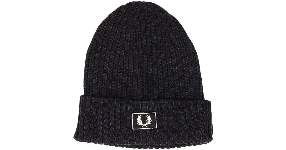 8decefa5d7e Lyst - Fred Perry Hat Men in Black for Men