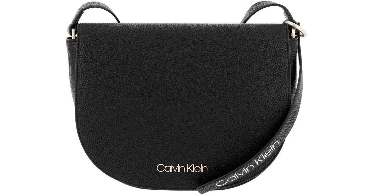 beb7166d0ee Calvin Klein Crossbody Bags Shoulder Bag Women in Black - Lyst