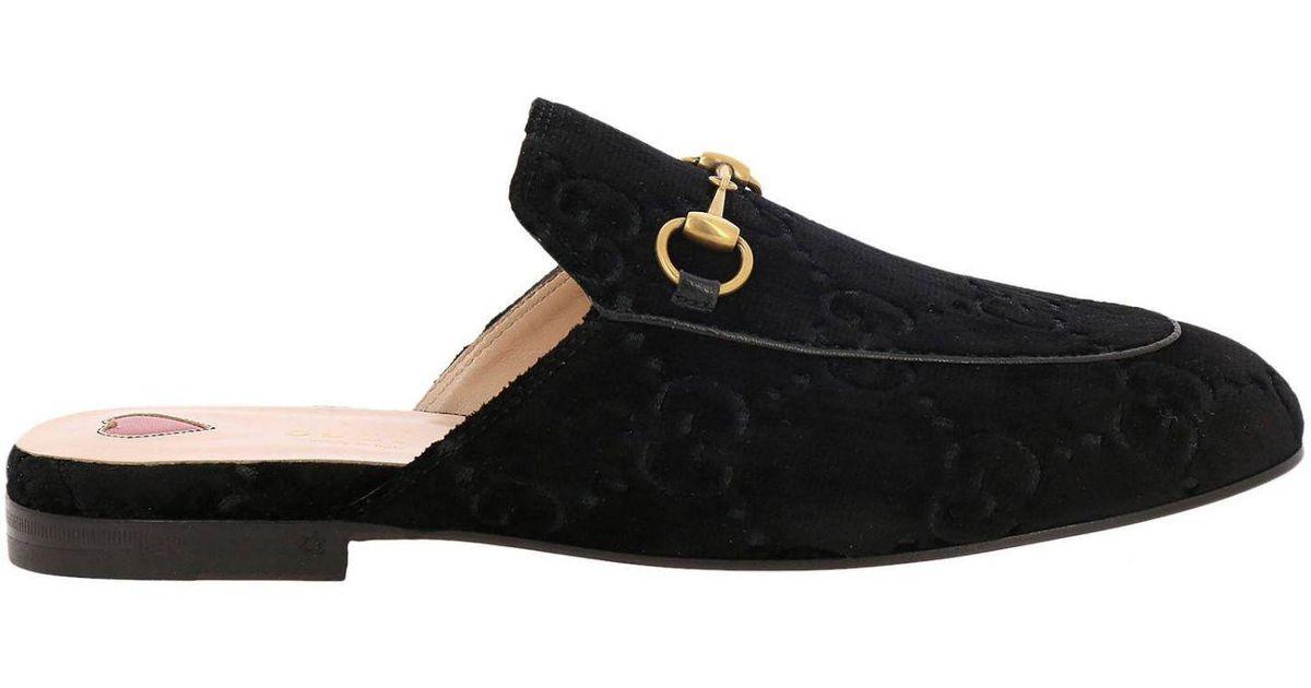 703ee5d13fd Lyst - Gucci Ballet Flats Shoes Women in Black