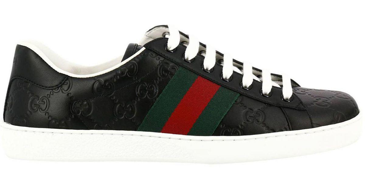 ac11c14d6 Gucci Shoes Men in Black for Men - Lyst