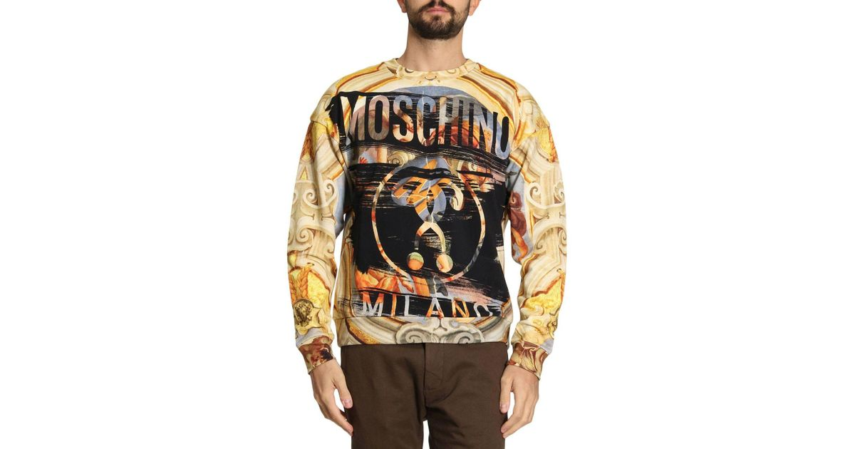 6c45fa82bd Moschino Couture Sweater Men for Men - Lyst