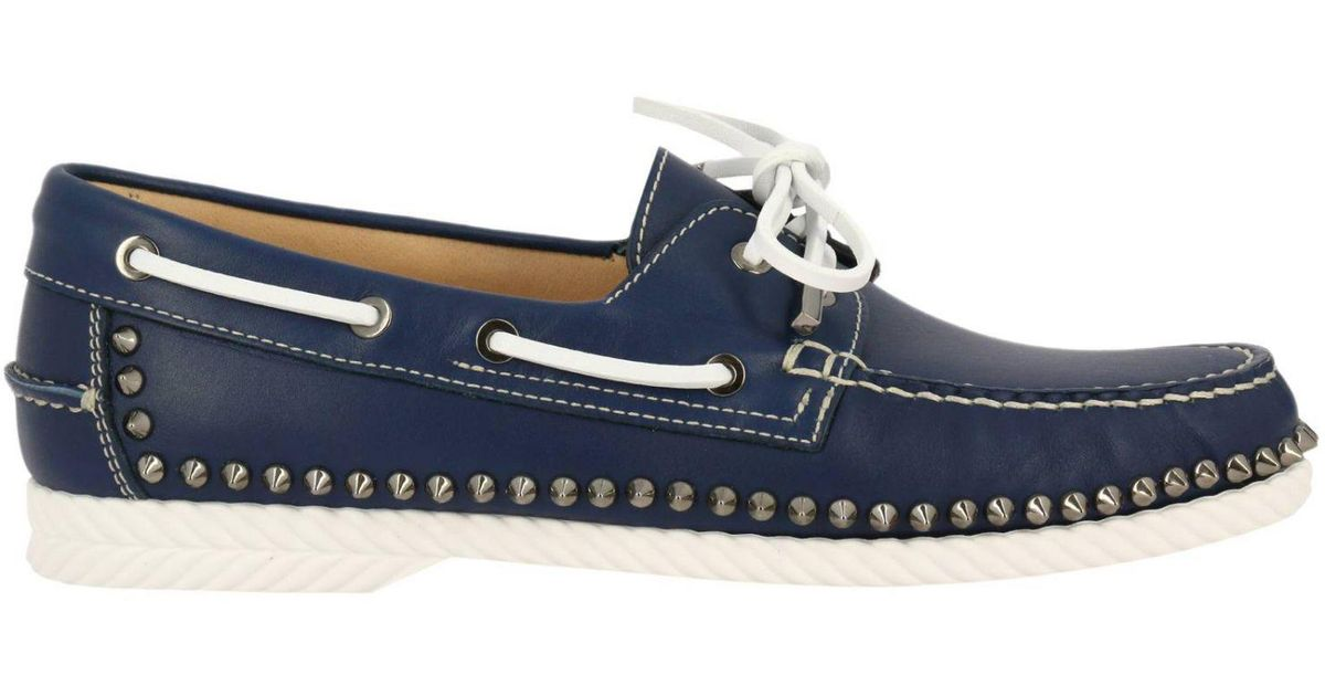 e46730f89d5 Christian Louboutin Shoes Men in Blue for Men - Lyst