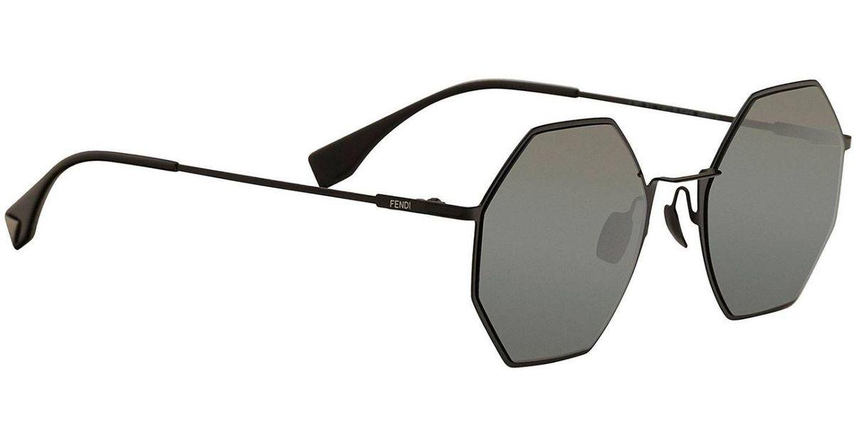 75ca5ff100 Fendi Glasses Eyewear Men in Gray for Men - Lyst