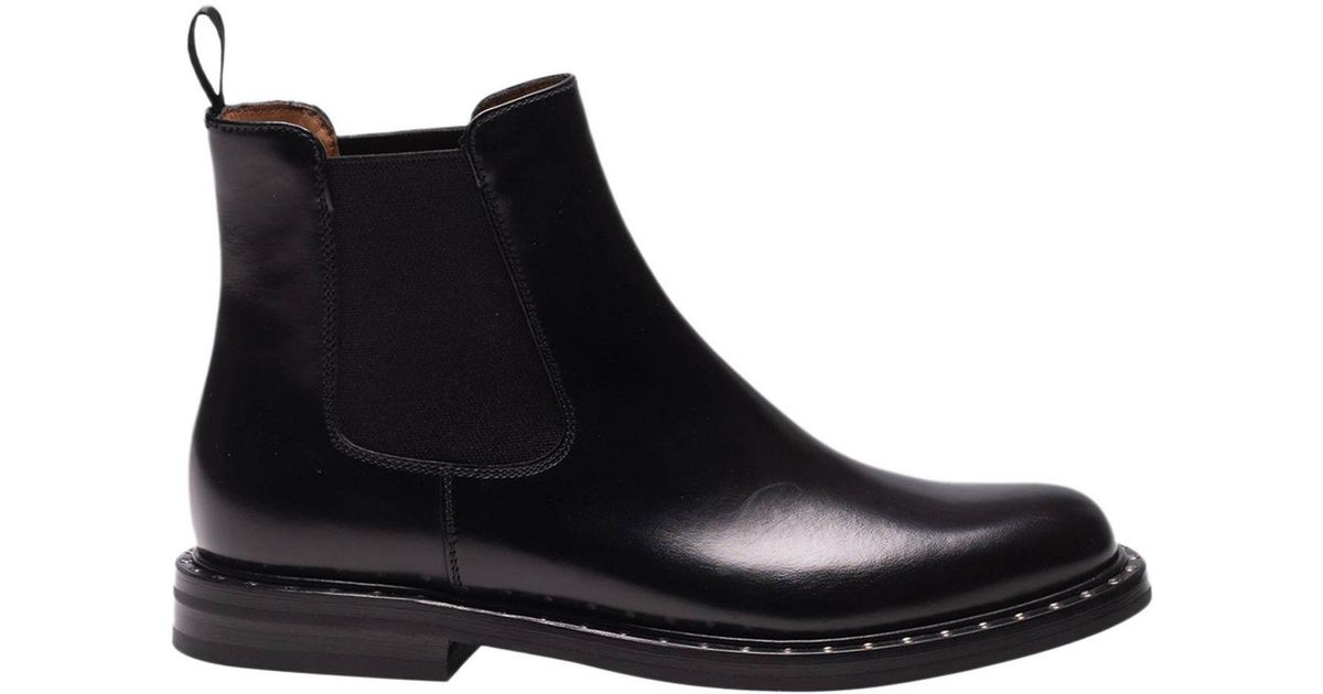 d5013713245e8 Lyst - Church's Flat Booties Shoes Women in Black