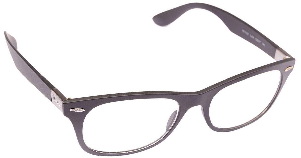 086e93bcfd Lyst - Ray-Ban Glasses Eyewear Men in Gray for Men