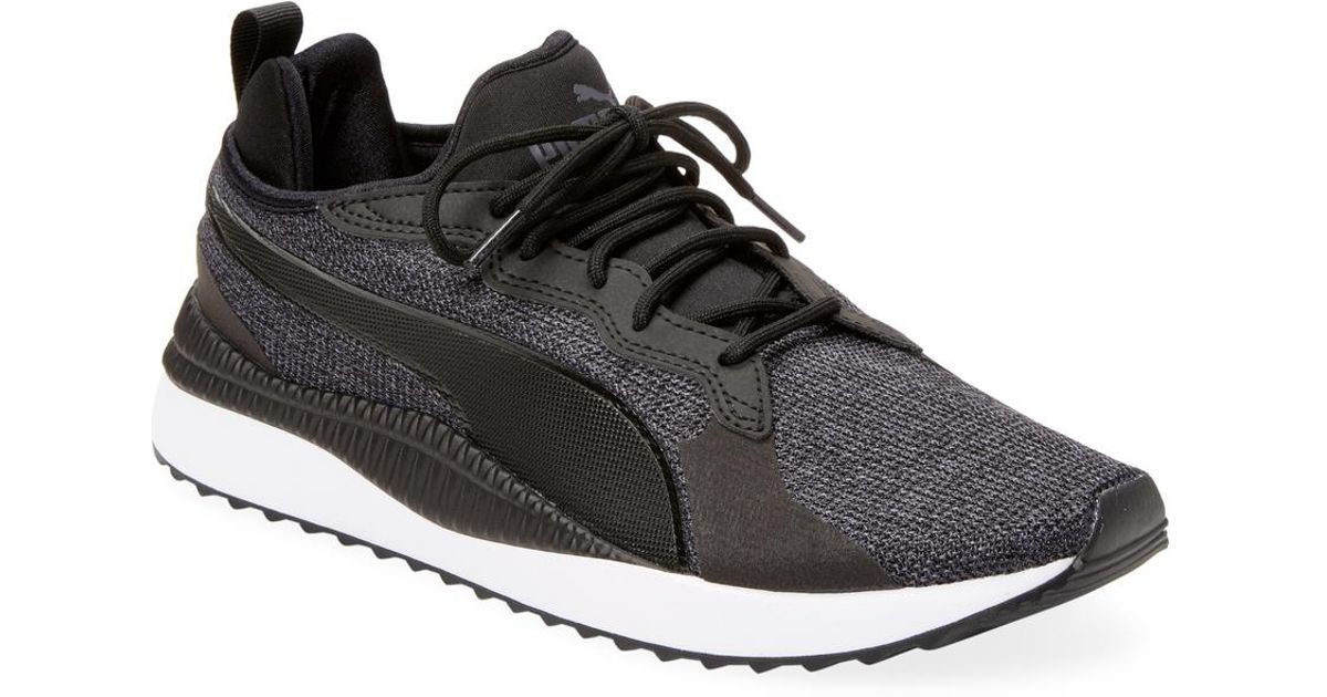 Lyst - PUMA Pacer Next Tw Knit Low Top Sneaker in Black for Men a8a19df90