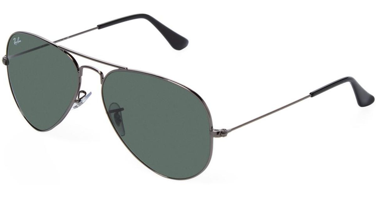 888e859207 Ray-Ban Classic Aviator Frame in Metallic for Men - Lyst