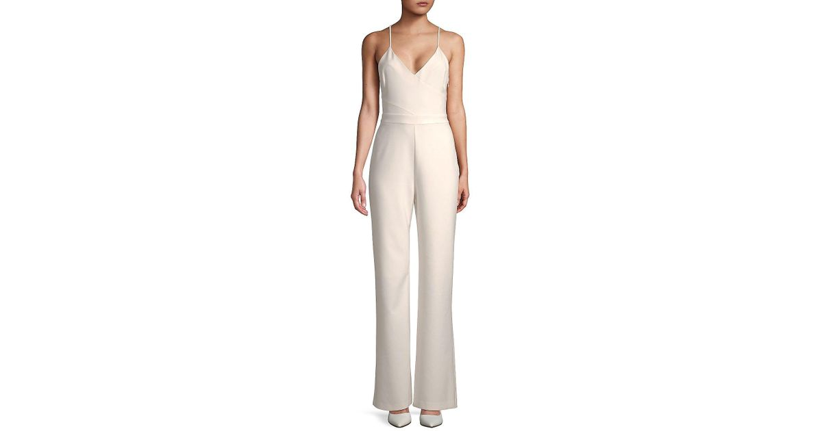 002c42fe092f Lyst - Likely Brooklyn Solid Jumpsuit in White