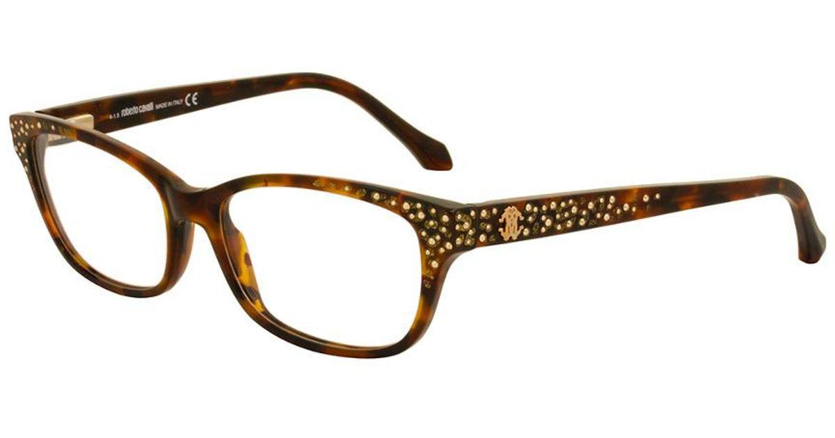 Lyst - Roberto Cavalli Women\'s Rc0928 54mm Optical Frames in Brown