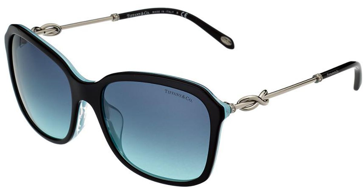 82b4f89c0305 Lyst - Tiffany   Co Women s Tf4128bf 57mm Sunglasses
