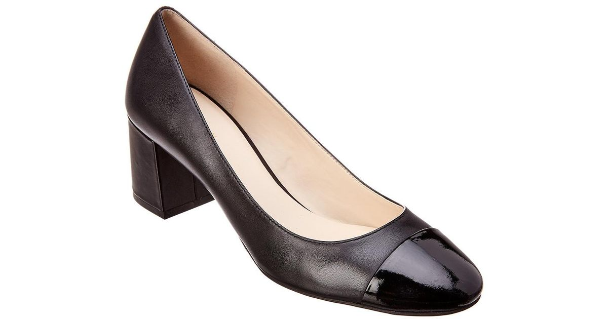 57ec285c22a Cole Haan - Black Dawna Leather Pump - Lyst