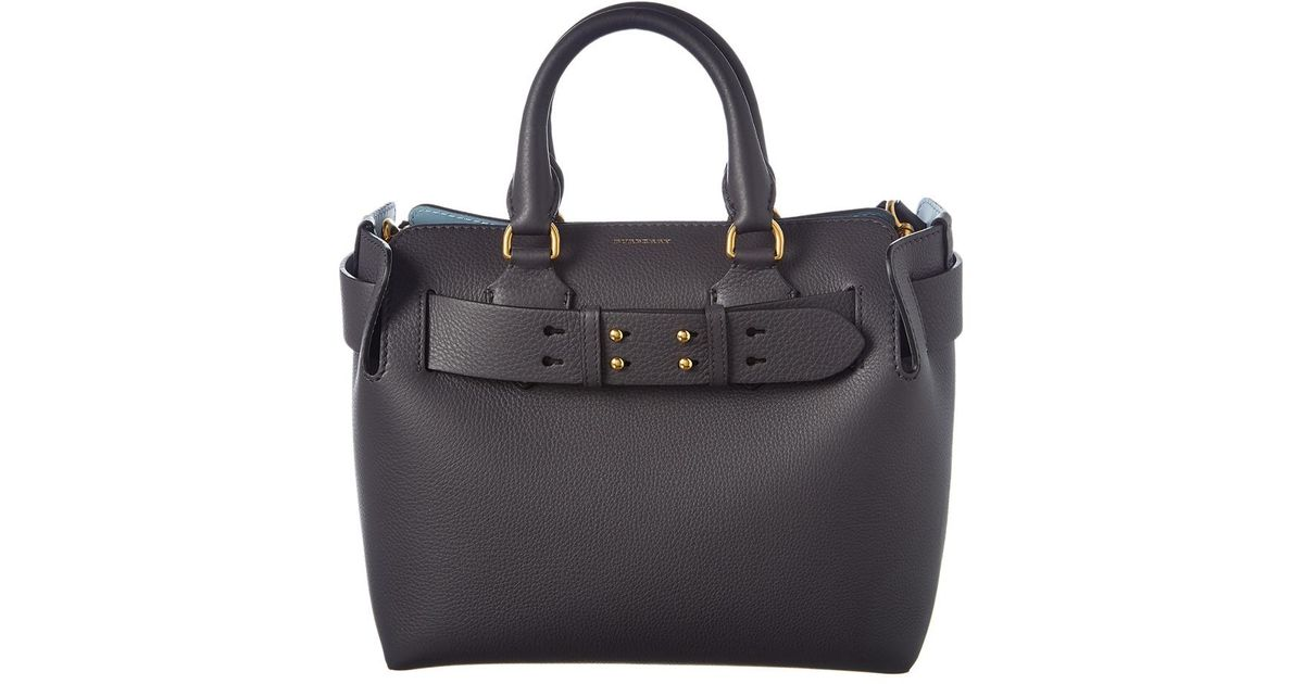 Burberry Small Belt Bag Leather Tote - Lyst bae28cd811729