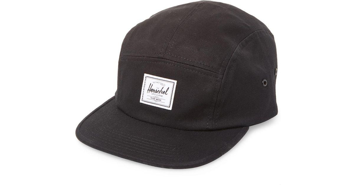 0352ba7c97a ... switzerland lyst herschel supply co. glendale baseball cap in black for  men 0db2e f5f25