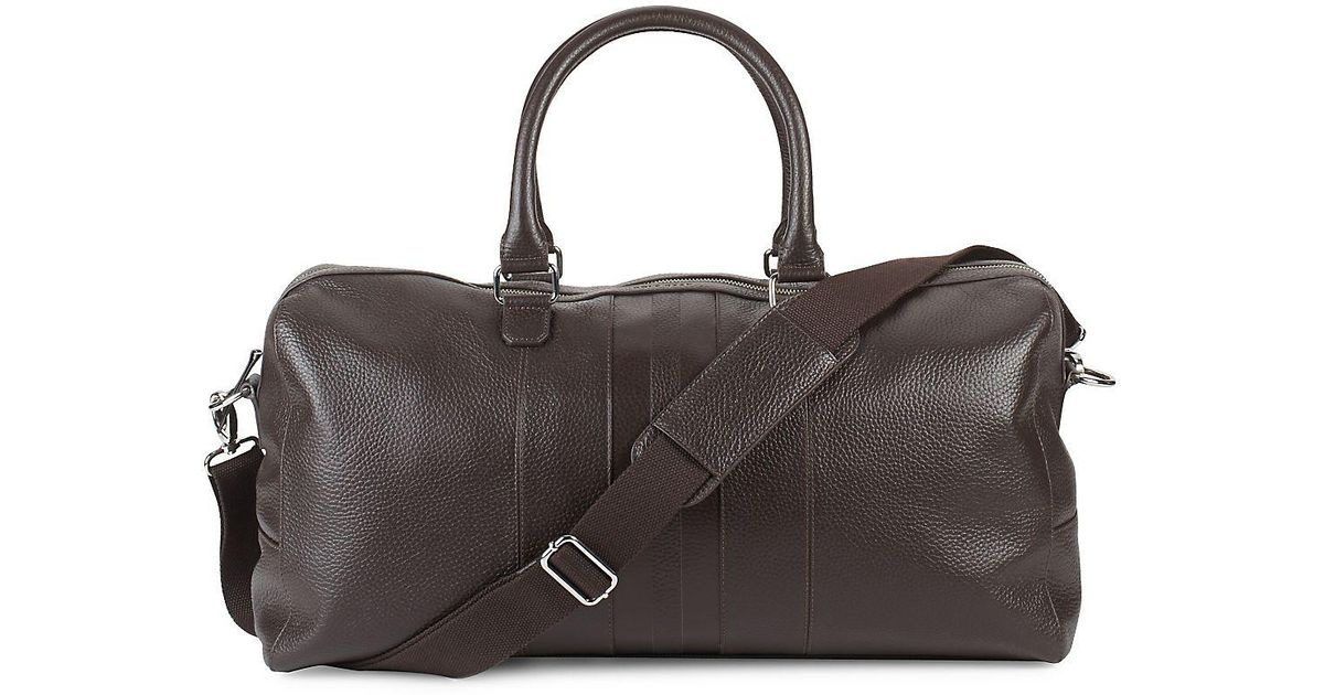 Lyst - Cole Haan Leather Travel Bag in Brown for Men c3651f42eff88