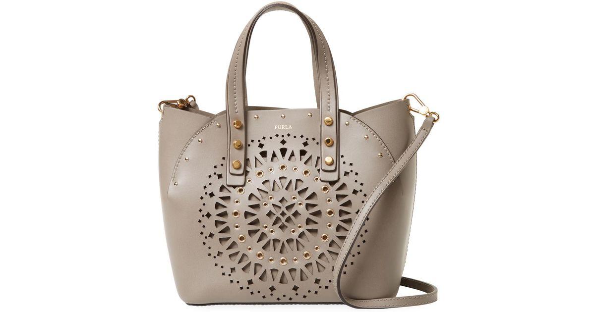 Lyst - Furla Aurora S Leather Tote Bag 51abbf771b86a