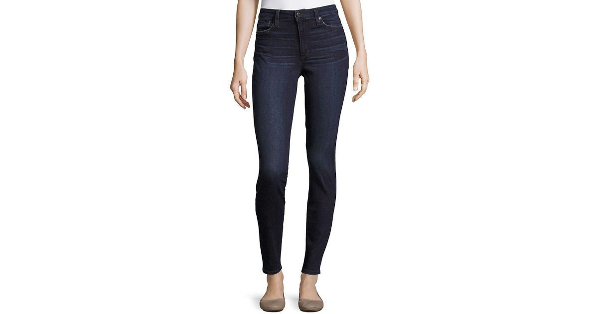 7f257b136ad7 Lyst - Joe S Jeans Delilah High-rise Skinny-fit Jeans in Blue