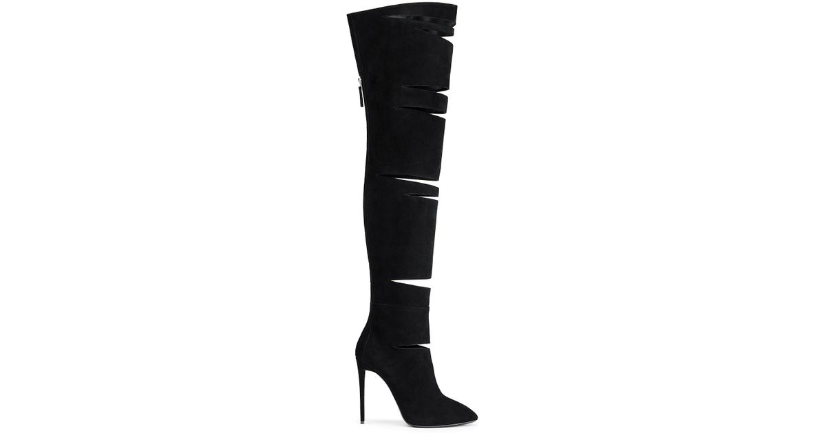 lowest price cheap online Giuseppe Zanotti Design Minerva knee length boots free shipping new styles r4GNAIVFT
