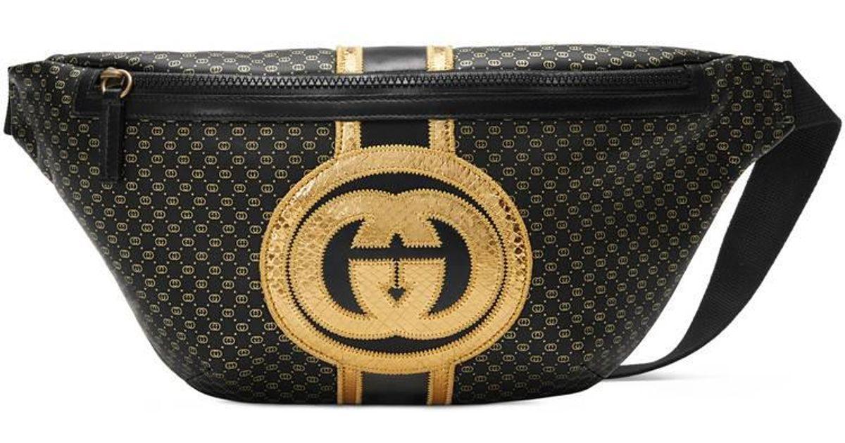 6146e96dd41 Lyst - Gucci -dapper Dan Belt Bag in Black for Men