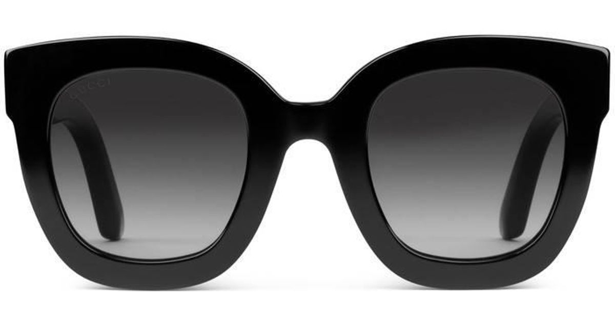dadc09ad8 Gucci Round-frame Acetate Sunglasses With Star in Black - Save 5% - Lyst