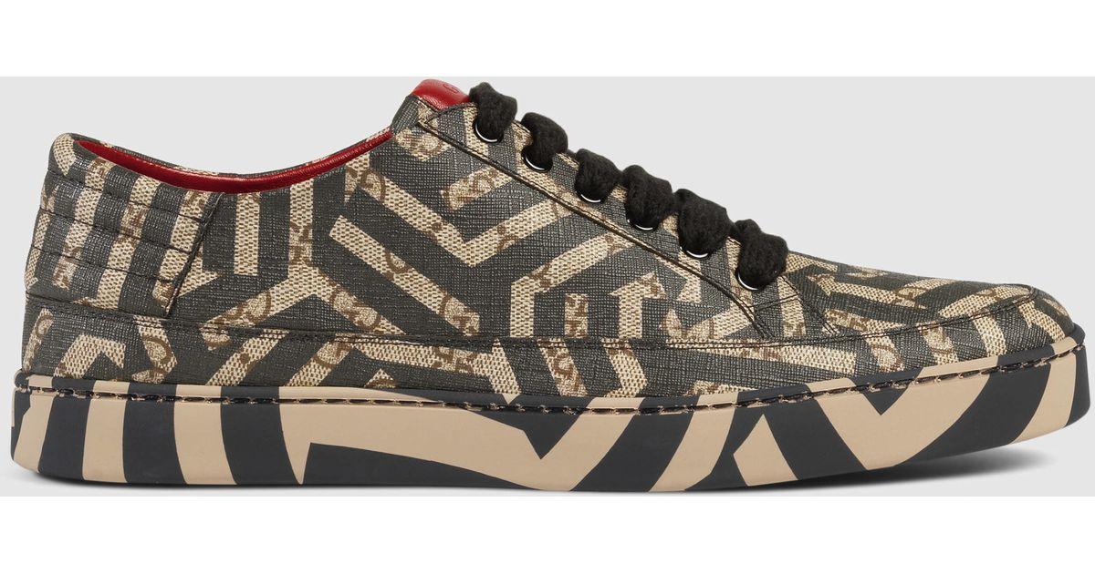d21e74d479a Gucci Gg Caleido Low-top Sneaker - Lyst