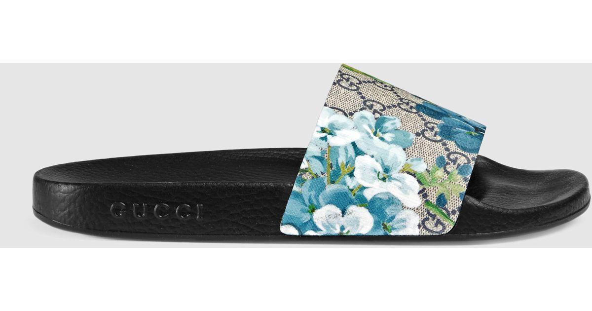 3675d6c9415 Gucci Gg Blooms Sandal - Lyst