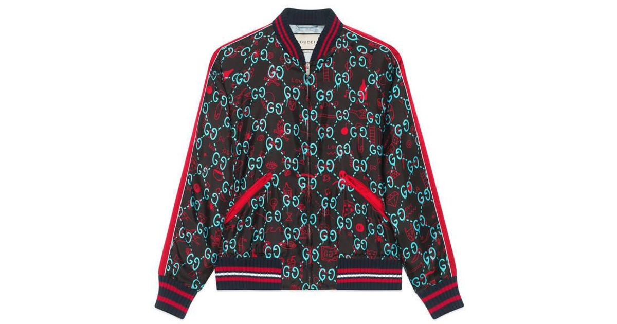 Lyst Gucci Ghost Bomber For Men