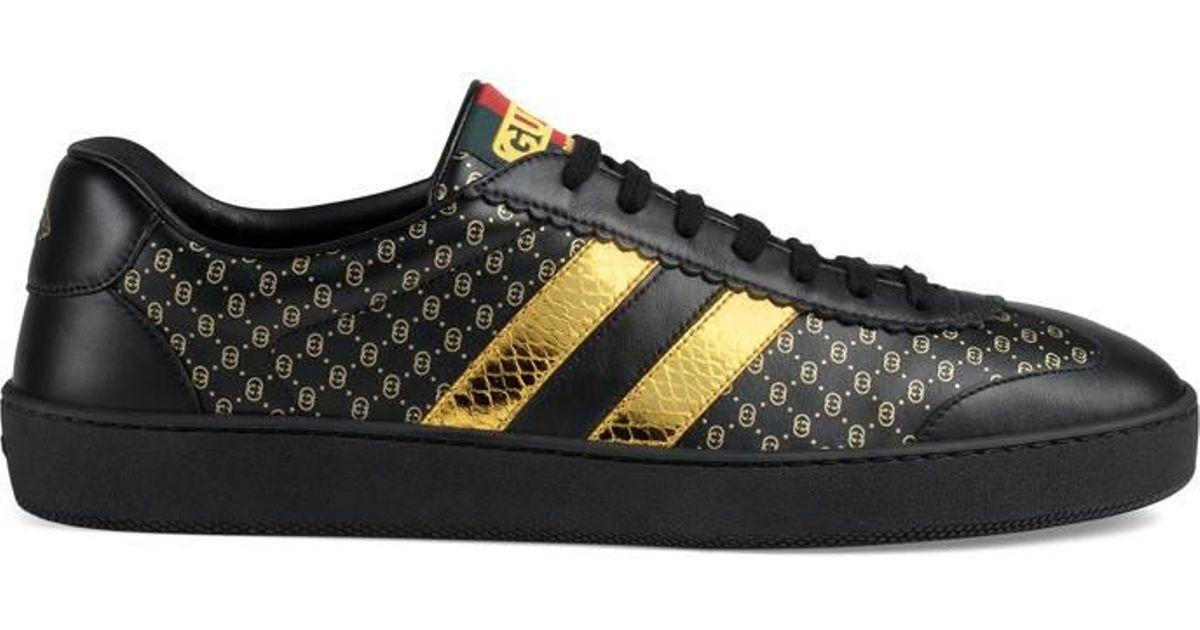 365ff7c53 Gucci Men's -dapper Dan G74 Sneaker in Black for Men - Lyst