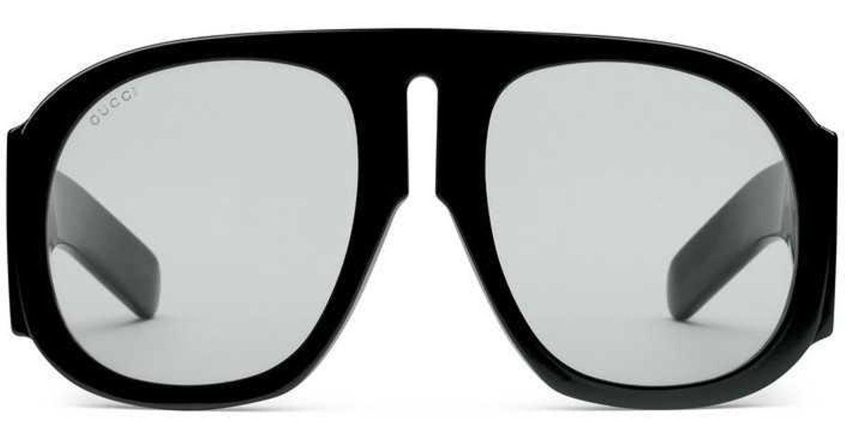 a115529c4a Lyst - Gucci Acetate Sunglasses in Black for Men