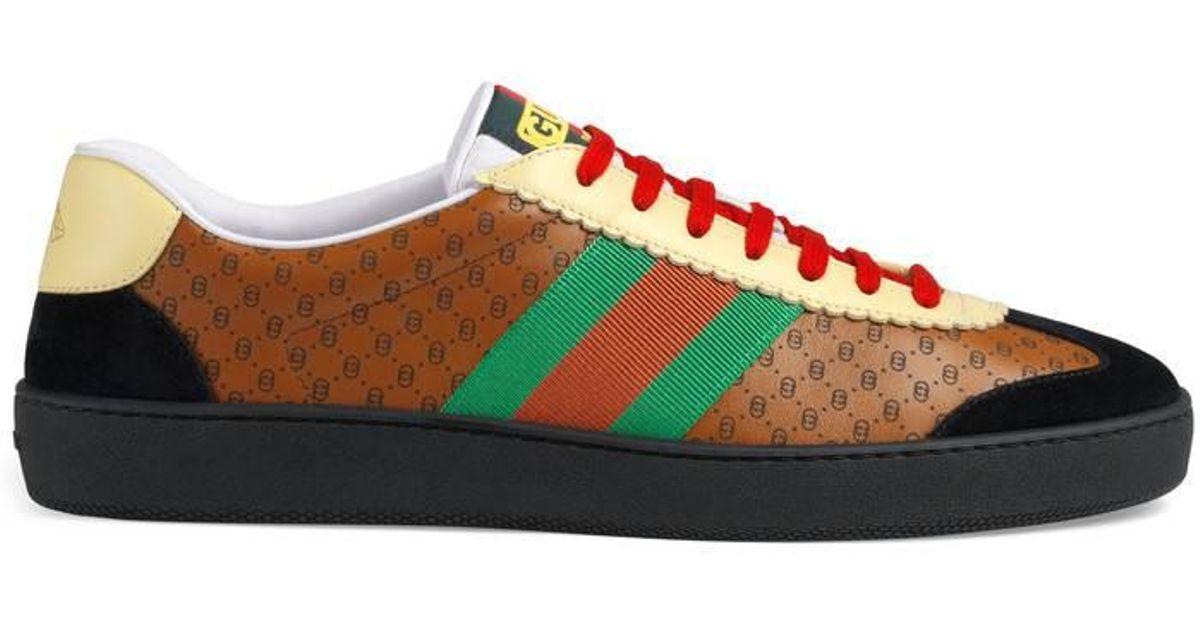 9bef84ee8 Gucci Men's -dapper Dan G74 Sneaker in Brown for Men - Lyst