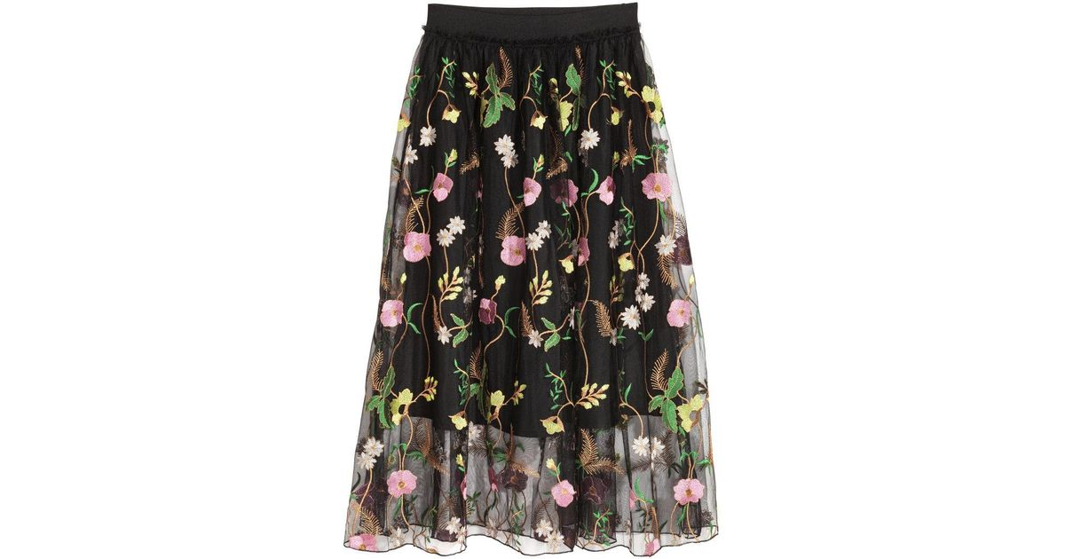 Opinion H m floral skirt agree with