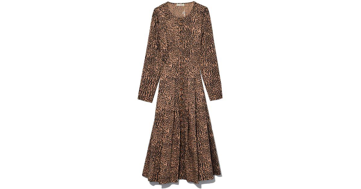92e04d49c7e3 Ulla Johnson - Brown Bernadette Dress In Cheetah - Lyst