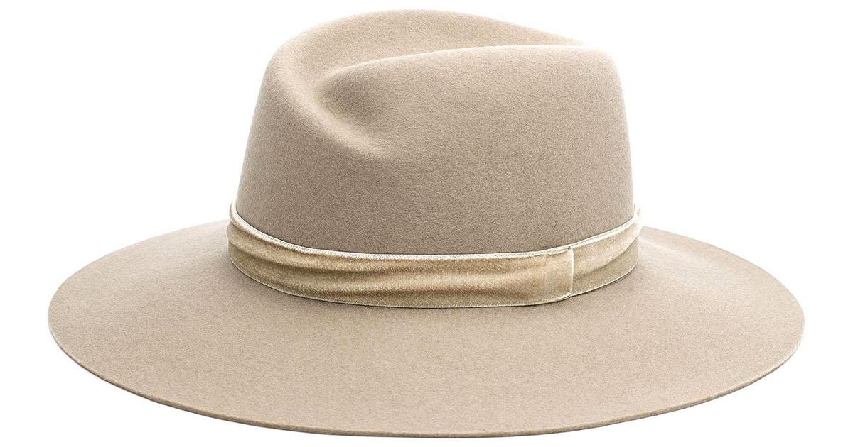 Tan Zoe Fedora Rag & Bone Free Shipping Find Great Official Site For Sale Cheap Wholesale qwEwc
