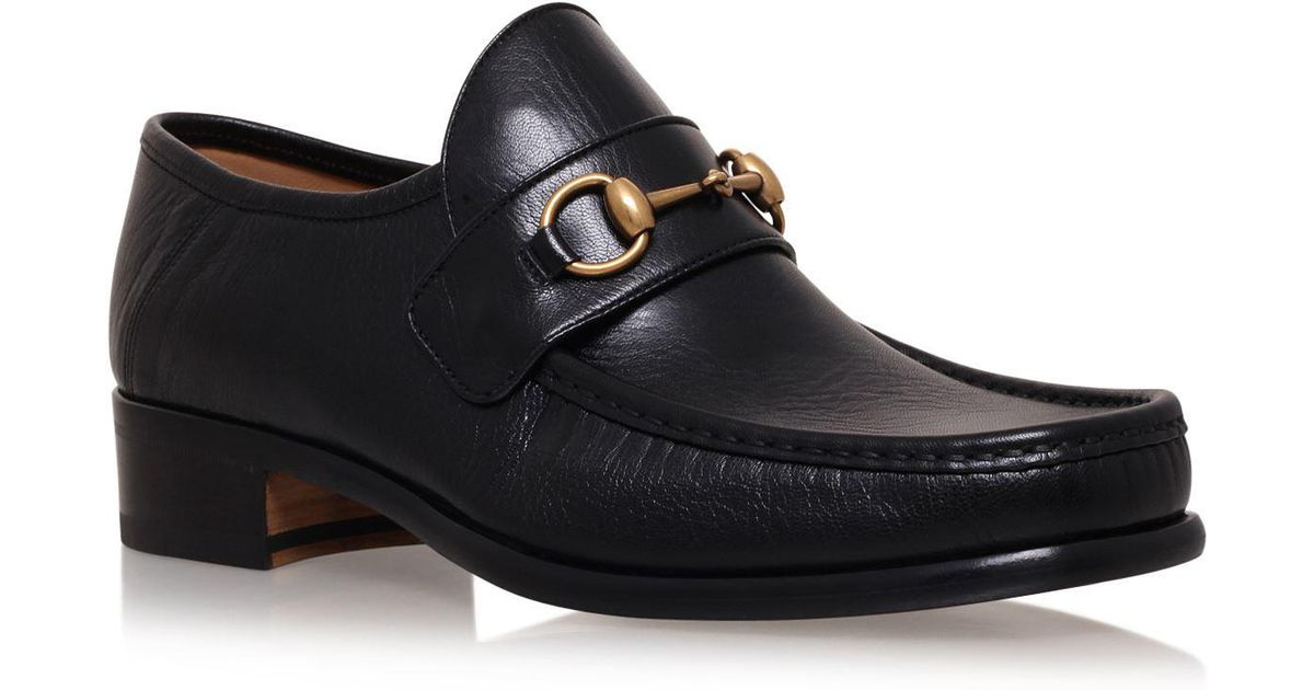 c66a9a6c560 Lyst - Gucci Vegas Horsebit Loafers in Black for Men