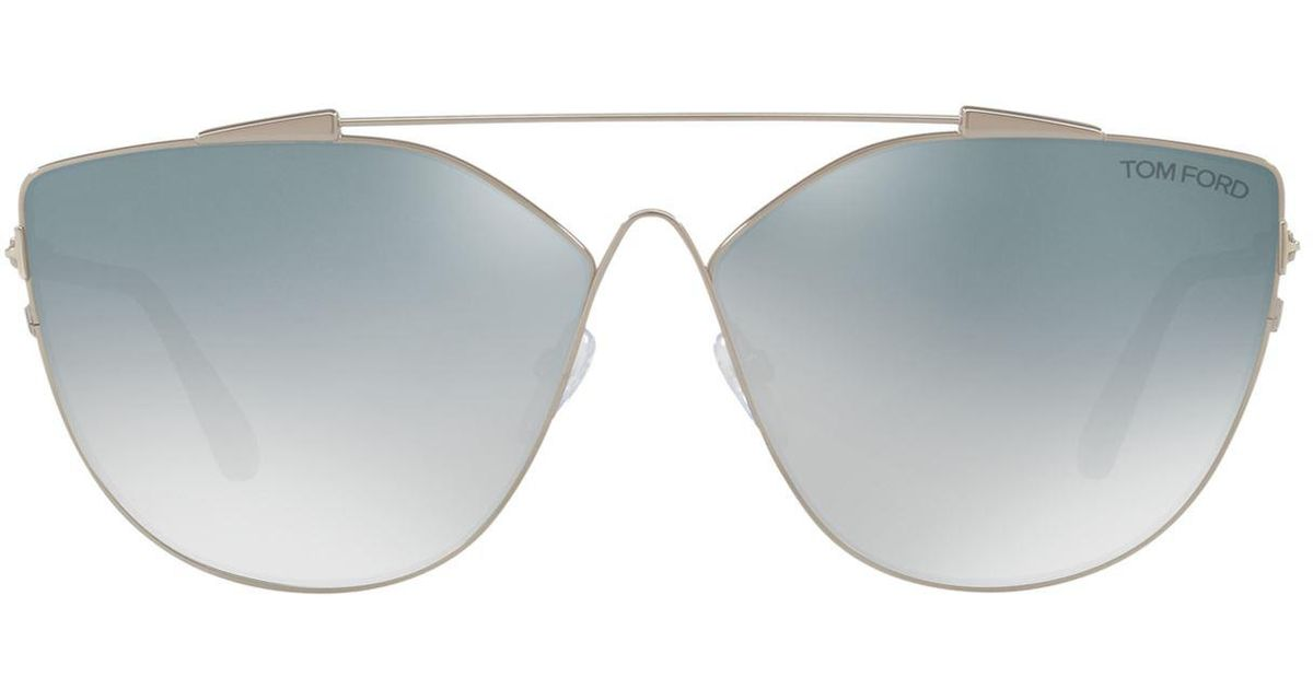 17f6466064fc Lyst - Tom Ford Jacquelyn Sunglasses in Gray - Save 23.946784922394684%