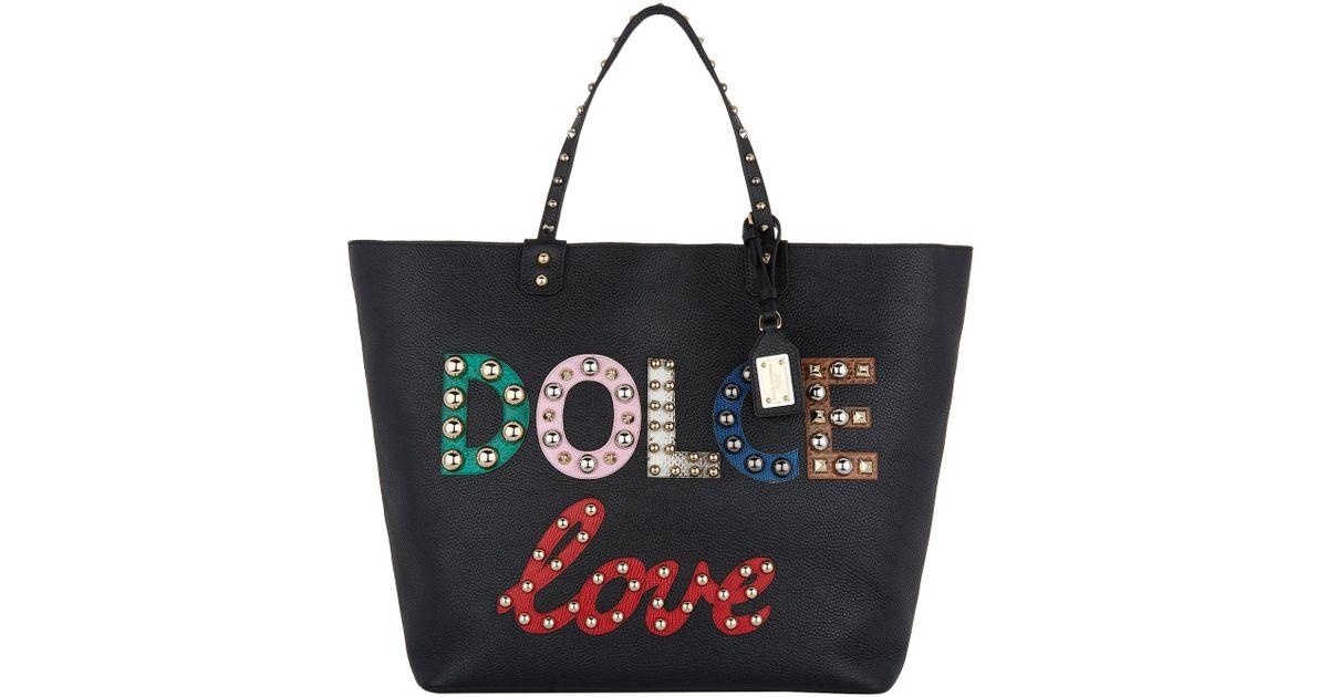 Lyst - Dolce   Gabbana Beatrice Tote Bag 7bdca89feacc3