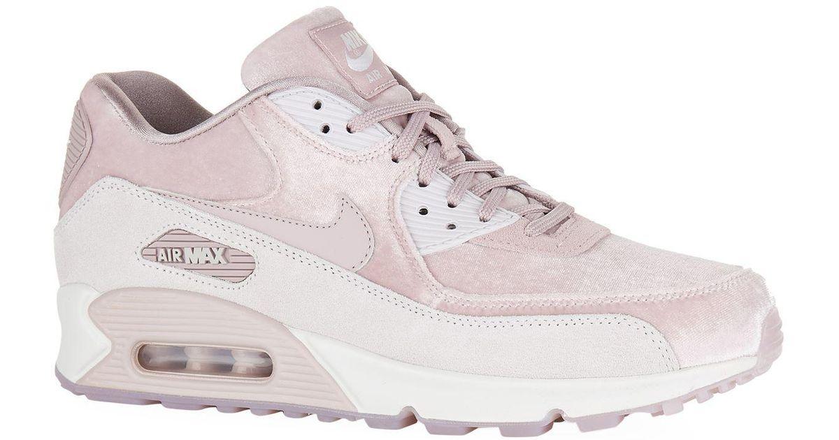 lowest price 2ae36 6d773 Nike - Pink Velvet Air Max 90 Lx Sneakers - Lyst
