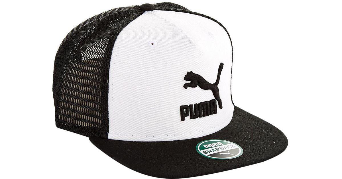 f2483ee00d shop puma trucker hat 4f46b ac284